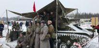 Курсанты Морской академии посетили историческую реконструкцию битвы за Ленинград