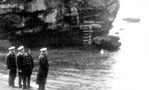 На фото – Адмирал С.О.Макаров на мысе Крильон, 1894г (ист.сайт drive2ru)