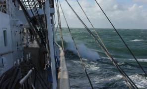 ПУС «Мир»: Жизнь среди ветра и волн