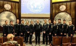Участие курсантов ГУМРФ имени адмирала С.О. Макарова в заседании Полярной комиссии