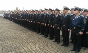 Курсанты Морского центра общеинженерного образования –  участники памятного торжественного мероприятия