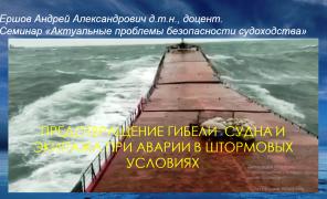 Актуальные вопросы судоходства обсудили на семинарах в Институте «Морская академия»