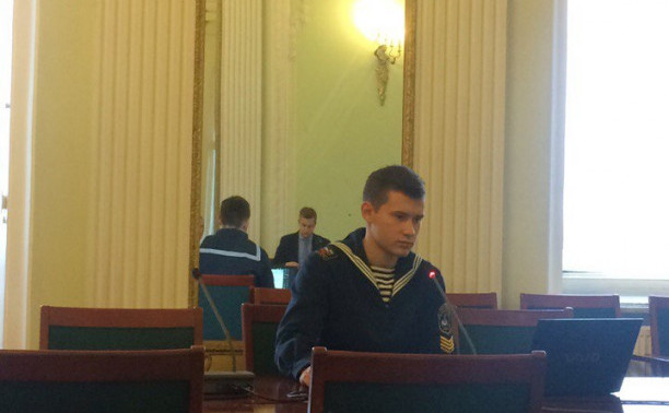 Курсанты Института «Морская академия» приняли участие в конференции Российского морского регистра судоходства