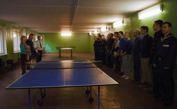 Курсанты Института «Морская академия» организовали и провели теннисный турнир