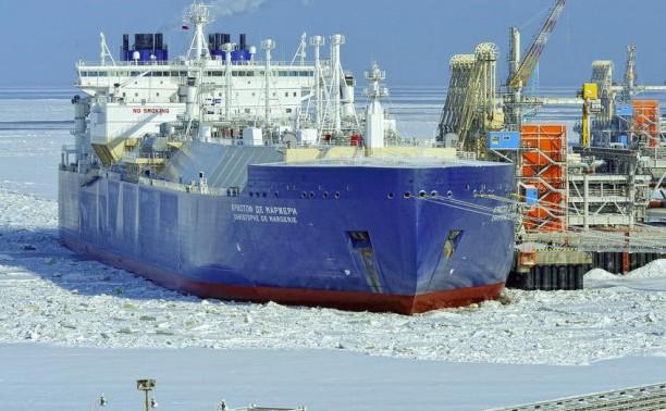 Сквозь льды на газовозе