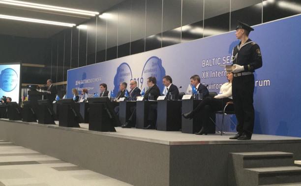 Курсанты Общеинженерного факультета на Форуме «День Балтийского моря»