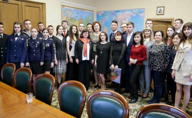 Макаровцев наградили в Государственной думе