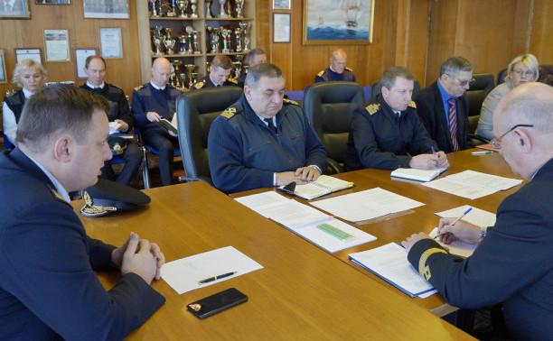 Рабочее совещание в морском центре общеинженерного образования  Института «Морская академия»