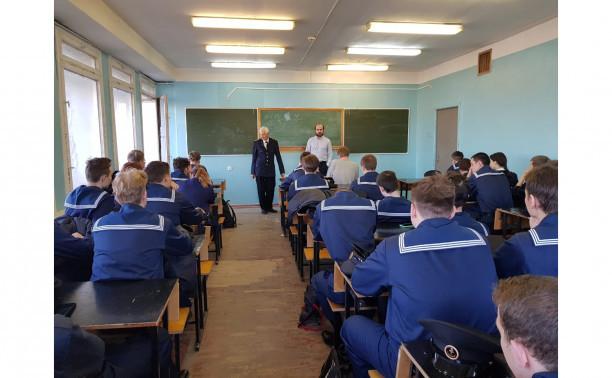 Профориентационная встреча курсантов 1 курса с представителями  крупных компаний