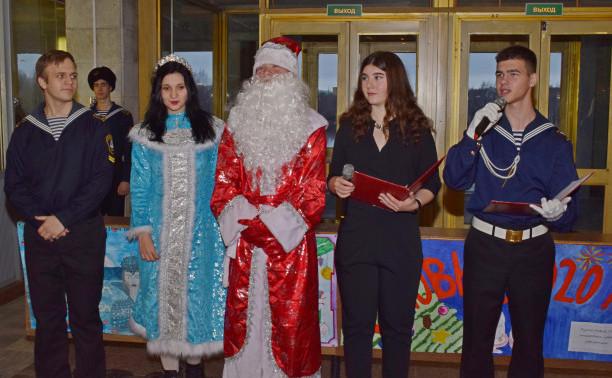 Новогодний праздник в Стрельне