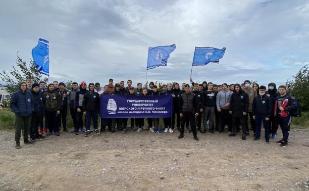 Курсанты МЦОО – участники акции «Чистый берег»