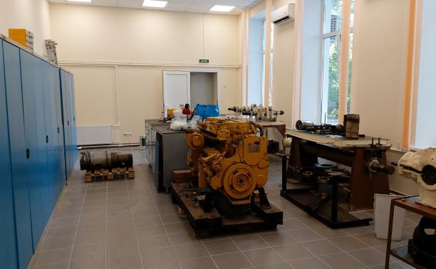Обновленная лаборатория технологии технического обслуживания и ремонта судов