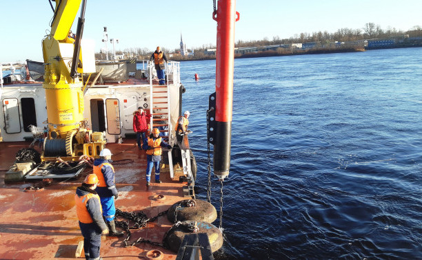 Проект INFUTURE: установка и начало практического тестирования финских буев