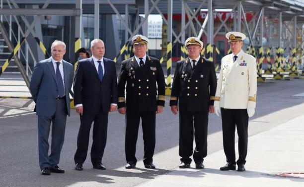 О посещении министром транспорта парусника «Мир»