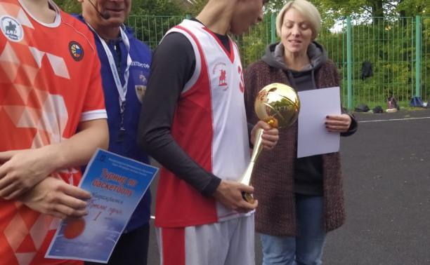 Турнир по баскетболу в Стрельне